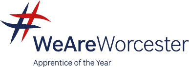 Logo for 'We are Worcester, Apprentice of the Year'