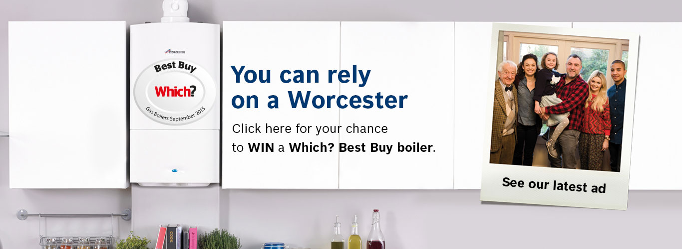 Click here for your chance to win a Which? Best Buy Boiler