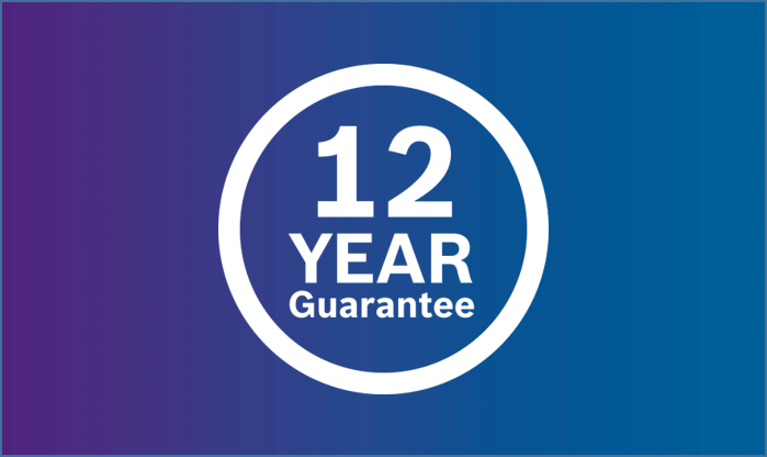 Up to 12 year guarantees on Worcester Bosch boilers