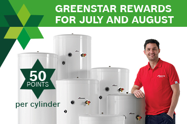 Greenstore cylinder 50 points promotion