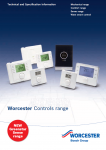 Worcester Controls Technical and Specification Information Preview Image