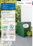 Greenstar Heatslave II External One Page Guide Preview Image