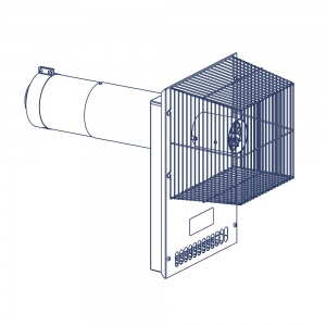 Oilfit External Low Level Horizontal Balanced Flue