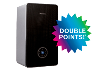 Double points promotion - Greenstar 8000 Style
