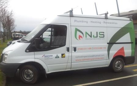 NJS Heating Services Ltd's Logo