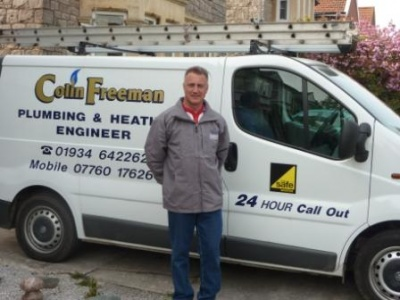Colin Freeman Plumbing & Heating's Logo