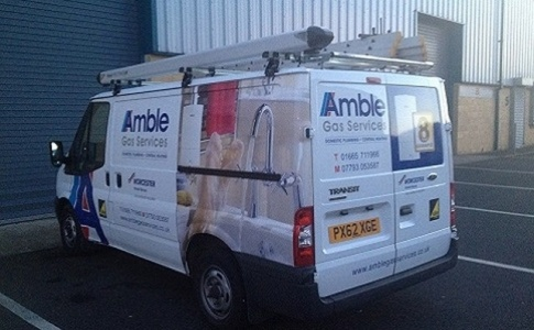 Amble Gas Services's Logo