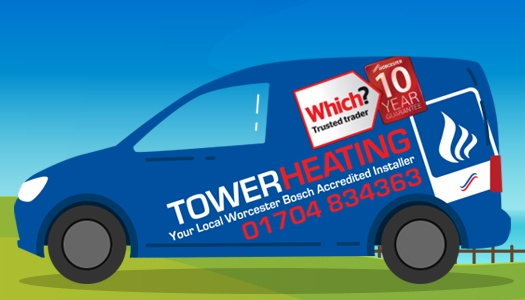 Tower Heating's Logo