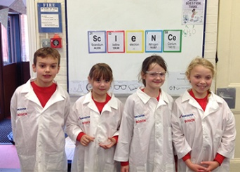 Worcester Bosch donation helps budding scientists look the part