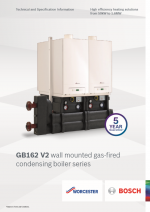 Worcester GB162 V2 Technical and Specification Information thumbnail