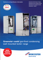 Greenstar Gas Combi Boilers Technical and Specification Information thumbnail