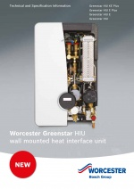 Greenstar Heat Interface Unit Technical and Specification Information thumbnail