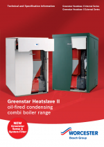 Greenstar Oil Combi Boilers Specification document thumbnail