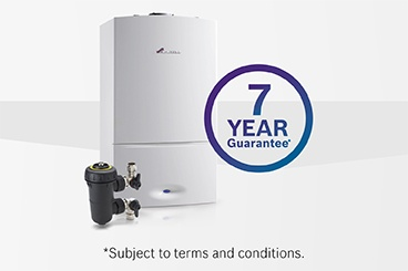 Promotional guarantee extended for gas boilers with system filters