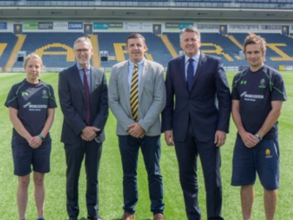 New sponsorship deal with Worcester Warriors unveiled