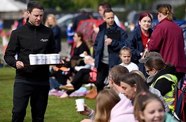 Ex-England Sports Stars Make Surprise Appearances at Local Youth Matches
