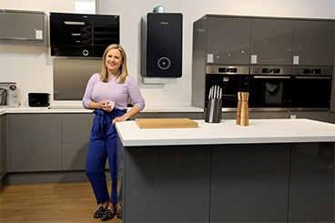 TV presenter and interior designer Sophie Robinson welcomes the new Greenstar Lifestyle range