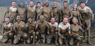 Muddy good charity fun for Worcester team