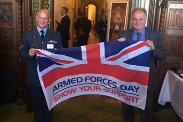 Worcester Bosch joins RAF reserves at House of Commons reception