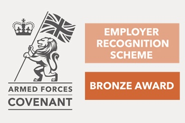 Worcester Bosch win 2019 Bronze Award for the Armed Forces Employer Recognition Scheme
