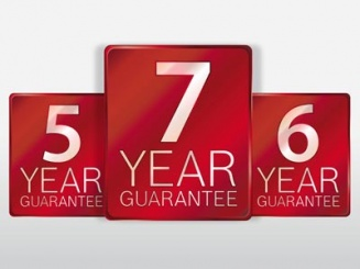 Extended Seven Year Guarantee Now Available*